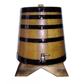 Wooden Oak barrel 10 L