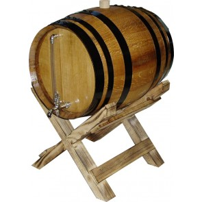 Wooden Oak barrel 60 L