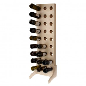 Bottle Rack for 27 bottles Chardonnay