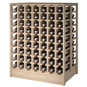 Riesling series bottle rack 6 removable shelves / 30 bottles