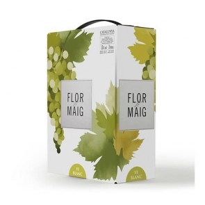 Flor de Maig White Wine Bag in Box 3lts