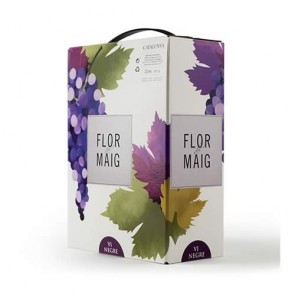 Flor de Maig Red Wine Bag in Box 3lts