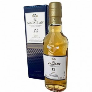 Mini Botellin The Macallan Double Cask