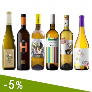 White Mediterranean Fruity and Fresh Wines Discount Pack