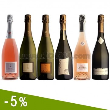 Carles Andreu Sparkling Wines Discount Pack