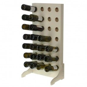 Stand Bottle Rack 28 bottles Chardonnay series