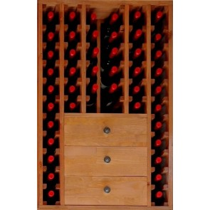Bottle rack Pine Godello 46 bottles