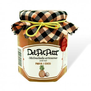 Del Pot Petit Pineapple and Coco Jam 220gr