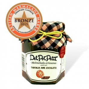Del Pot Petit Chocolate and Orange Jam 220gr